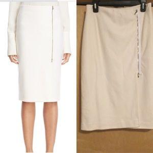 'Visita' Wool Jersey Pencil Skirt MAX MARA